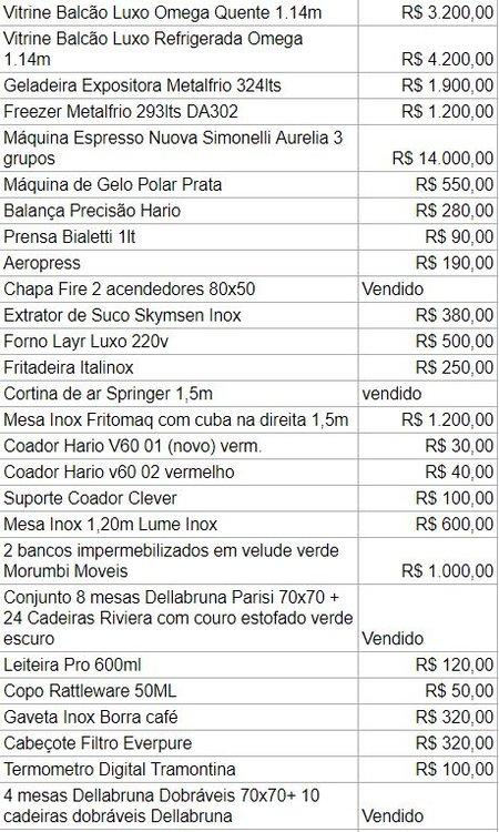 Preço de equipamentos 1.JPG